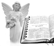 Bible New Testament St. John Angel Stock Photography