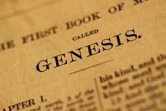 Bible page Royalty Free Stock Image