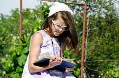 Bible reading Stock Images