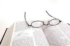 Bible Reading Royalty Free Stock Photography