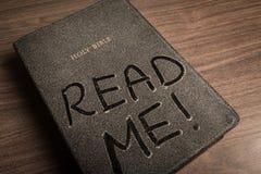 Bible. Religion Dust Reading Spirituality Christianity God Royalty Free Stock Photos