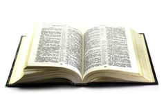 The Bible in Russian Stock Images