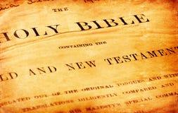 Bible sainte Photo libre de droits