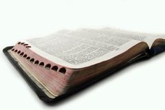 Bible sainte photo libre de droits