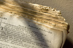Bible Scriptures Royalty Free Stock Photography