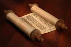 Bible Scrolls Royalty Free Stock Photography