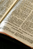 Bible Series Colossians Stock Photography