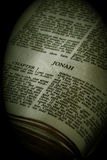 Bible Series Jonah sepia Stock Photo
