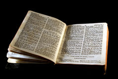Bible series leviticus Stock Image