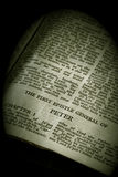 Bible Series Peter Sepia Royalty Free Stock Images