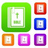 Bible set collection Royalty Free Stock Photos