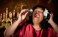 Bible singer Stock Photography