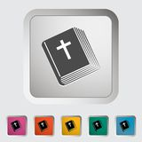 Bible single icon. Stock Photo