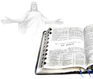 Bible St. John and Jesus Royalty Free Stock Images