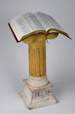 Bible on Stand. Open Bible on stand Stock Photography