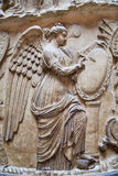 Bible story relief. Exhibition hall of Victoria and Albert Museum. Royalty Free Stock Photography