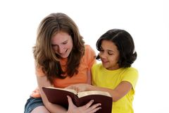Bible Study Stock Image