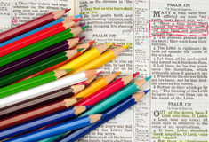 Bible Study Royalty Free Stock Photo