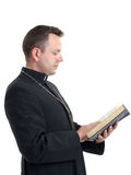 Bible studying Stock Image