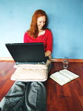 Bible Studying at Home Royalty Free Stock Photography
