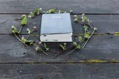 Bible sur en bois Image libre de droits