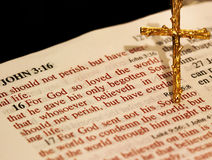 Bible Verse Stock Image