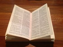 Bible on Wood Royalty Free Stock Photography