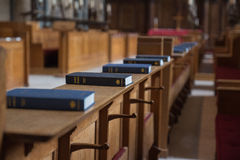 Bibles. The Temple church, Holy Bible Stock Images