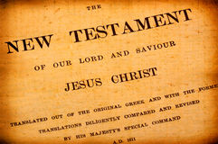biblia święta Obraz Stock