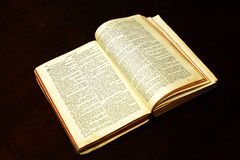 biblia zdjęcia stock