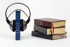 Biblia audio Foto de archivo libre de regalías
