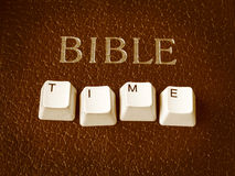 biblia czas Fotografia Stock