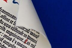 Biblia de Gutenberg Imagenes de archivo
