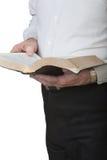 Biblia de la lectura Fotografía de archivo