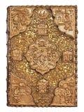 Biblia de oro de la cubierta Foto de archivo