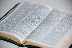 Biblia de rey james Imagen de archivo libre de regalías