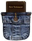 Biblia del bolsillo Imágenes de archivo libres de regalías