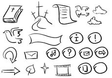 Biblia doodle2 ilustracji