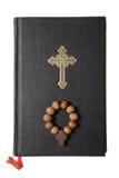 Biblia en el fondo blanco Imagen de archivo