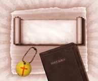biblia kolaż Zdjęcie Stock