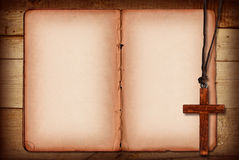 biblia kolaż Zdjęcia Stock