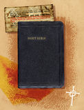 biblia kolaż Obrazy Royalty Free