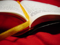 Biblia rumana Imágenes de archivo libres de regalías
