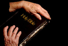 Biblia santa foto de archivo libre de regalías