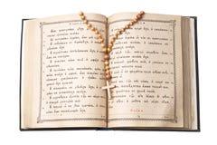 Biblia santa abierta Imágenes de archivo libres de regalías