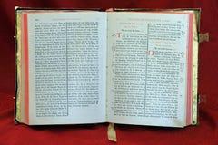 Biblia santa ortodoxa del griego clásico Imagen de archivo libre de regalías