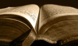 biblia stara Obraz Royalty Free