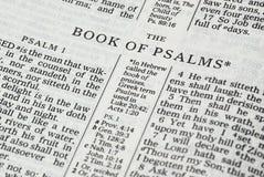 Biblia szczegół zdjęcia royalty free