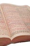 Biblia vieja Imágenes de archivo libres de regalías