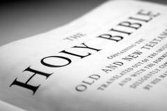 biblia święta Fotografia Stock